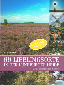Cover 99 Lieblingsorte in der Lüneburger Heide